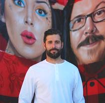Mural HIGH VOLTAGE -Estudio de tattoo de Kat Von D, Hollywood LA-. Un proyecto de Arte urbano de Miguel Ángel Belinchón Bujes - 09-11-2015