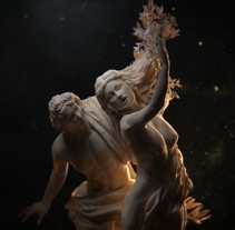 Apollo and Daphne - Breakdown. A 3D, Fine Art, Lighting Design, Multimedia, and Character animation project by Jose Alcivar - 08-09-2017
