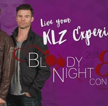 Vídeo Promocional BloodyNightCon 2018. A Design, and Animation project by Marina Lopez         - 09.09.2017