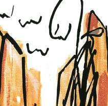 El Buscador (cuento). Um projeto de Ilustração de Mónica Rodrigo Magro         - 10.09.2017
