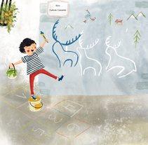Primavera das letras. Un proyecto de Ilustración de Laura Cortés         - 11.09.2017
