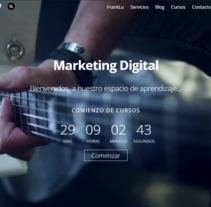 Mi Proyecto del curso: Creación de una web profesional con WordPress. Un proyecto de Marketing de Francisco Israel Lueza Martínez - 11-09-2017