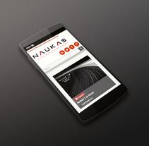 Naukas. A Web Design project by Alejandro Polanco Masa         - 15.09.2017