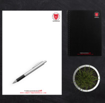 PAPELERÍA CAMPUS DE EMPRENDEDORES - MADRID. Un proyecto de Diseño de Edwar Barboza - 15-09-2017