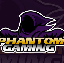 Phantom Gaming. A Icon design project by Axel Cervantes         - 19.09.2017