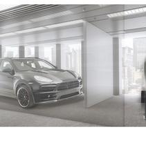 Porsche - 3D World. A Photograph, 3D, Education, Post-Production, Infographics, and Digital retouching project by Leonard Blum          - 20.09.2017