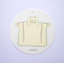 Diseño etiqueta Oysho. Colección Otoño / Invierno 2017 . Un proyecto de Diseño, Ilustración y Diseño de producto de Raquel Sarabia Ruda - 15-03-2017