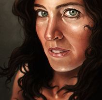 Beautiful eyes. A Illustration project by Rubén Megido         - 25.09.2017