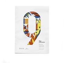 Diseño de los 4 carteles que conmemoran el 9 d'Octubre por Bestiola & Malota: Generalitat y variaciones para las 3 provincias. Esperamos que os gusten. <3. Un proyecto de Diseño, Ilustración, Dirección de arte, Br, ing e Identidad y Serigrafía de jordi  ferrandiz - 26-09-2017