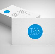 Tax Account; Papelería básica.. A Design, and Graphic Design project by Amparo  Navarro - 28-09-2017