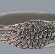 Anillo Boda. A Illustration, 3D, Crafts, Jewelr, Design, and Product Design project by Inma  Gallardo         - 29.09.2017