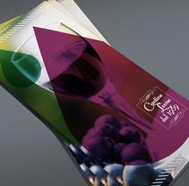 Proyecto de folleto para marca de vino Cantine Leone. A Graphic Design project by Pietrangelo Manzo         - 13.11.2012