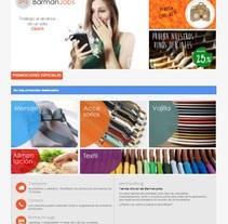 Tienda Online para la app BarmanJobs. Um projeto de Design e Web design de Edith Llop Roselló         - 01.09.2017