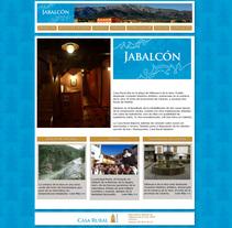 Web Casa Rural Jabalcón. A Web Design, and Web Development project by Pepe Delgado         - 19.10.2017