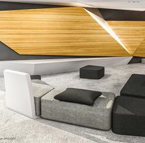 VIVIENDA COLECTIVA. A Design, 3D, Architecture, Furniture Design, Interior Architecture, Interior Design, Lighting Design, Post-Production&Infographics project by Pablo Marcos Vila         - 15.01.2014