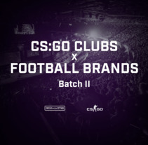 CS:GO CLUBS x FOOTBALL BRANDS | Batch II. A Design, Advertising, and Costume Design project by Diego Von Trier - 20-10-2017