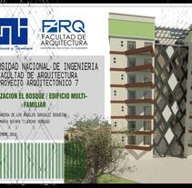 Urbanización ''El Bosque''. A Design, Architecture, Interior Architecture&Interior Design project by Vanessa Gonzalez - 29-11-2016
