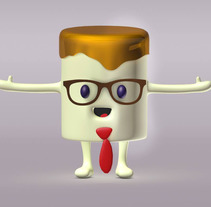 Personajes 3D  . A Design, 3D, Character Design, and Character animation project by Alberto Campa         - 10.07.2016