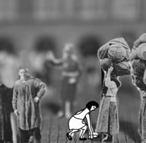 El alma de la Plaza: vendedores ambulantes en los cuatro siglos de Plaza Mayor. Un proyecto de Animación, Vídeo y Stop Motion de Helena Becerril - 01-06-2017