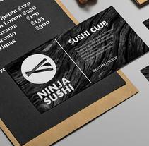 Sishi Ninja. A Br, ing&Identit project by Manu Guastavino         - 25.10.2017