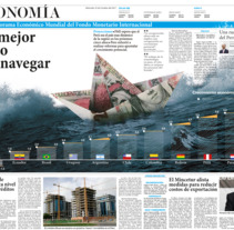 "Infografia y Diseño Editorial - Periodico Local ""Comercio"" . A Editorial Design project by Daniel Carranza Quintanilla - 01-11-2017"