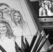 Varias ilustraciones a lápiz. A Illustration project by Oscar Geovani Vergara Arias - 14-03-2014