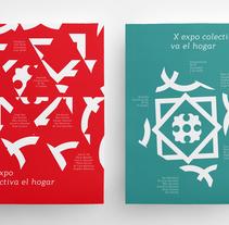 X Expo colectiva El Hogar. Un proyecto de Br e ing e Identidad de José Antonio Sánchez         - 05.11.2017