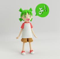 Diseño de personajes en Cinema 4D: Yotsuba!. A 3D project by pauloxka         - 09.11.2017