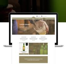 Restyling Web Llagar la Morena. A Graphic Design, and Web Design project by *María Criado*         - 10.11.2017