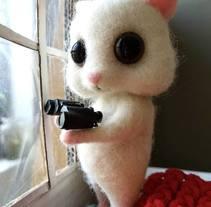 Hamster y amigos. Um projeto de Design, Animação, Design de personagens, Artesanato e Escultura de Carolina Alles         - 15.11.2017
