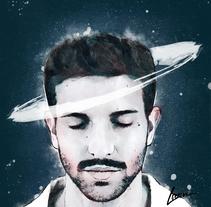 Mi Proyecto del curso: Retrato ilustrado con Photoshop de Pablo Alborán. A Illustration project by Marina Muñoz         - 19.11.2017