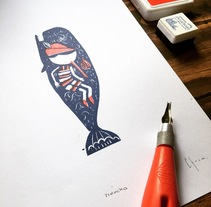 Pinocho. Un proyecto de Ilustración y Dirección de arte de Pablo Choca - 19-11-2017