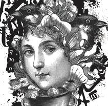 Mi Proyecto del curso: Técnicas experimentales de ilustración: de lo digital a lo artesanal. Um projeto de Ilustração de knife555         - 22.11.2017