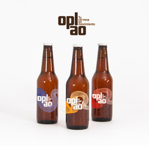 Opalo, Tu cerveza en movimiento. A Illustration, Art Direction, Br, ing, Identit, Graphic Design, Packaging, Naming, and Vector illustration project by Eduardo Cámara - 26-11-2017