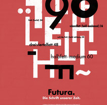 Futura_90. A Design, Crafts, Graphic Design, T, and pograph project by Jesús Morentin //BunkerType// - 15-11-2017