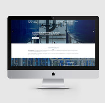 Ingeniería Solvan. A UI / UX, Graphic Design, and Web Design project by Dowhile         - 27.11.2017