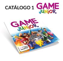 Catálogo 1 GAME Junior. A Graphic Design project by Fernando Escolar López-Roso - 29-11-2017