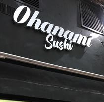 Restaurante Ohanami Sushi. A Design project by ljgraphic         - 29.11.2017