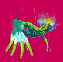 Vuelo en color. A Illustration project by Santiago Camacho         - 08.08.2017