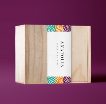 ANATOLIA  |  Chocolate & Wine. A Packaging project by MCarmen Ruiz - 05-03-2017