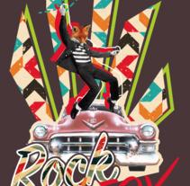 Rock'n'Fox. Un proyecto de Diseño gráfico y Collage de naitux         - 30.11.2017