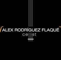 Alex Rodríguez Flaqué. Un proyecto de Diseño, Dirección de arte, Br e ing e Identidad de Víctor Vidal         - 05.06.2013