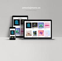 Mi Proyecto del curso: Creación de una web profesional con WordPress. A Design, Art Direction, Br, ing, Identit, Graphic Design, Web Design, and Web Development project by Antonio Jimeno - 15-12-2017