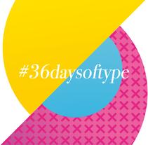 #36daysoftype. Um projeto de Design gráfico de Iván Soso         - 22.12.2017