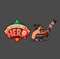 Character animation for Almost a Hero game. Un proyecto de Animación y Animación de personajes de Juan Carlos Cruz         - 31.12.2017
