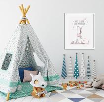 Lámina infantil. Un proyecto de Dirección de arte de Diseñadora Gráfica - 09-01-2018