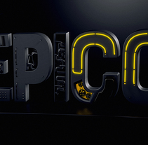 Texto 3d Épico. A 3D project by James Cristhian Rocha Terceros         - 09.01.2018