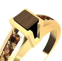 Gems, wood and gold.... A Jewelr, and Design project by Santi  Casanova González - 09-01-2018