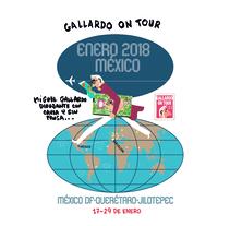 La semana que viene en México DF por 11 días. Un proyecto de Comic de Miguel Gallardo         - 12.01.2018