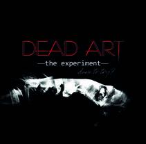 """Cartel película """"DEAD ART"""". Um projeto de Design, Fotografia, Cinema, Vídeo e TV, Eventos, Design de cenários, Cinema e Retoque digital de Noelia Sanz         - 17.01.2018"""